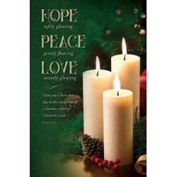 Bulletin-Hope  Peace  Love...