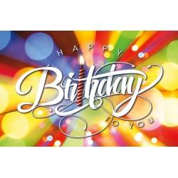 Postcard-Happy Birthday To...