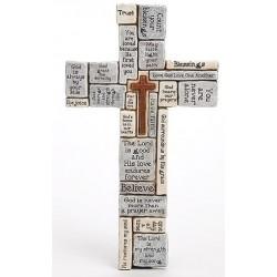"""Wall Cross-Crossword (16"""")"""