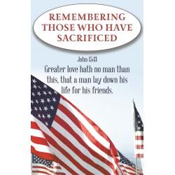 Bulletin-Remembering Those...