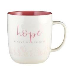 Mug-Hope In The Lord (Heart...