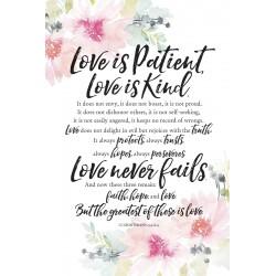 Plaque-Woodland Grace-Love...