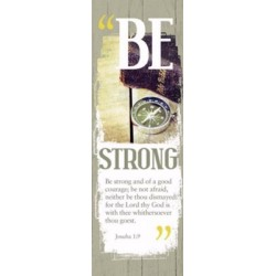 Bookmark-Be Strong (Male)...