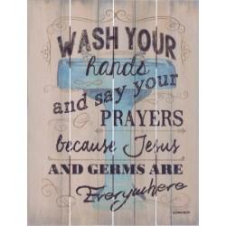 Rustic Pallet Art-Wash Your...