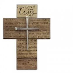 Wall Cross-Hang It On The...