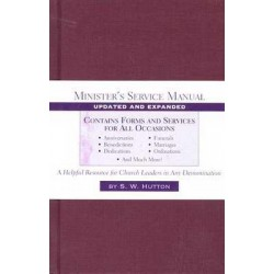 Minister's Service Manual...