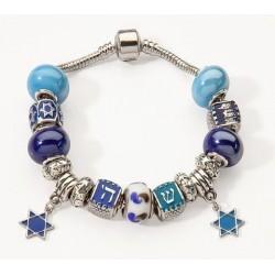 Bracelet-Assorted Beads w/2...