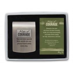 Visor Clip-Man Of Courage...