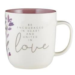 Mug-Encouraged In Heart...
