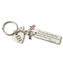 Keyring-Faith Hope Love
