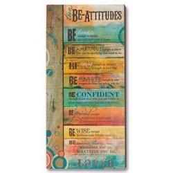Plaque-Teen Be-Attitudes...