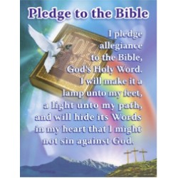 Chart-Pledge To The Bible...