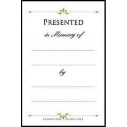Book Plate-Presented In...