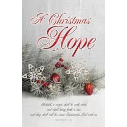 Bulletin-A Christmas Hope...