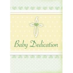 Certificate-Baby Dedication...