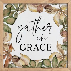 Wall Decor-Gather In Grace...