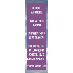 Bookmark-Rejoice Evermore....