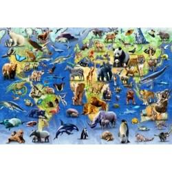 Jigsaw Puzzle-Endangered...