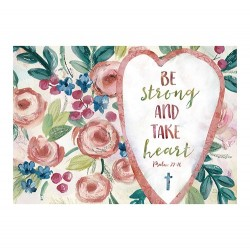 Postcard-Be Strong And Take...