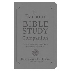 The Barbour Bible Study...
