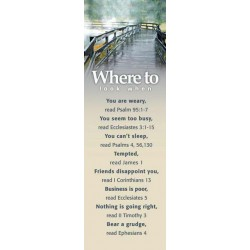 Bookmark-Where To Look...