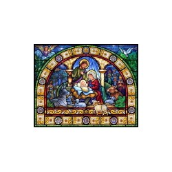 Jigsaw Puzzle-Stained Glass...