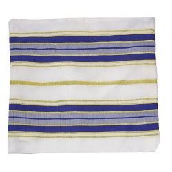 Tallit Bag-Acrylic-Blue Stripe