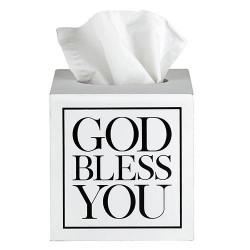 Tissue Box-God Bless...