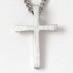 """Necklace-Flared Cross w/24""""..."""