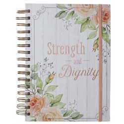 Journal-Strength & Dignity...