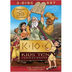 DVD-Kids' Ten Commandments...