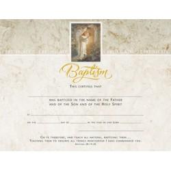 Certificate-Baptism/Sallman...