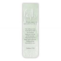 Magnetic Bookmark-Faith Can...