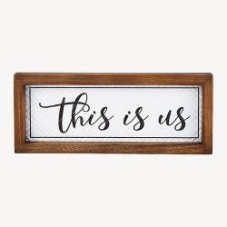Framed Wall Decor-This Is...
