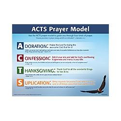 Chart-ACTS Prayer Model...