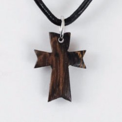 """Necklace-Angled Cross w/24""""..."""