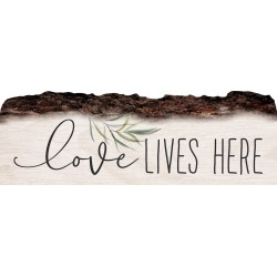 Barky Sign-Love Lives Here...