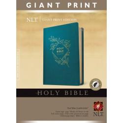 NLT Giant Print Bible-Teal...