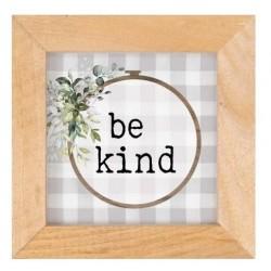 Framed Art-Be Kind-Buffalo...
