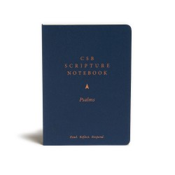 CSB Scripture Notebook:...
