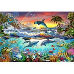 Jigsaw Puzzle-Paradise Cove...