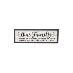 Framed Art-Our Family...