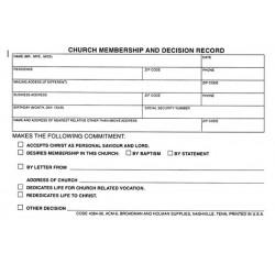 Form-Church Membership And...