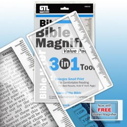Magnifier-3 In 1 Bible...