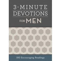 3-Minute Devotions For Men:...