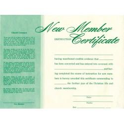 Certificate-New Member...