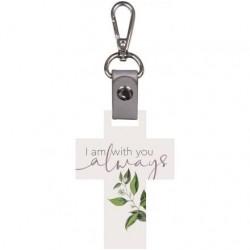 Key Chain-Cross-I Am With...