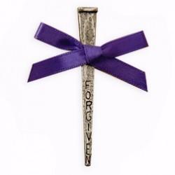 Lapel Pin-Forgiven Nail-Pewter
