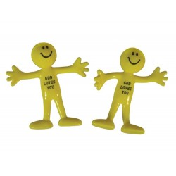 Toy-Smiley Bendable Man...