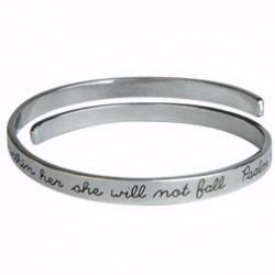Bangle Bracelet-God Is...